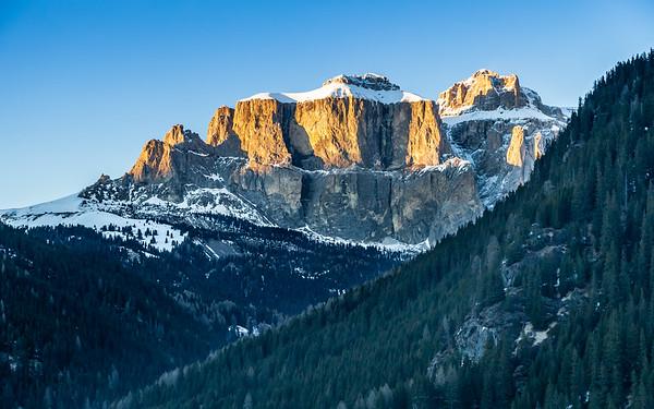 Gruppo del Sella, Dolomites, Italy, 2011
