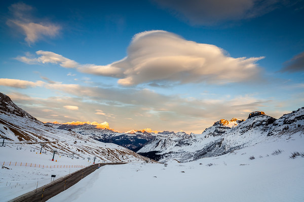 Passo Pordoi, Val di Fassa, Dolomites, Italy, 2012