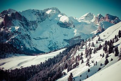 Val di Fassa, Dolomites, Italy, 2014