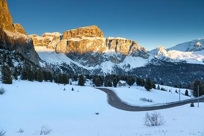 Gruppo del Sella, Val di Fassa, Dolomites, Italy, 2012