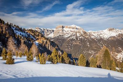 Gruppo del Sella, Dolomites, Italy, 2012
