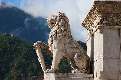 Bolzano Lion from Waltherplaza