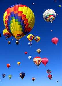 The Albuquerque Balloon Fiesta is truly one of the world's great spectacles, the largest ballooning event on earth and the most photographed event of any type, surpassing even the Rose Parade.