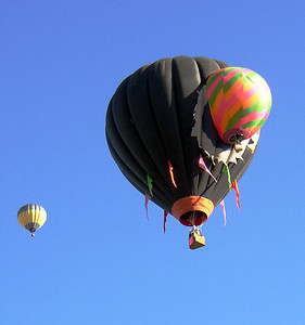 ....and some were based on aerial antics that revealed that some balloonists must have a somewhat morbid sense of humor.