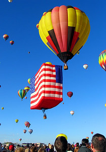 "Again, some of these ""specially-shaped"" balloons displayed a patriotic flare...."