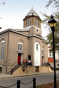 The First African Baptist Church was the first erected by blacks in Georgia.