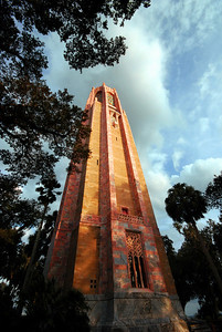 "The centerpiece of the Bok Tower Gardens is, of course, the tower -- the 205 foot neo-Gothic ""Singing Tower"" with a 60-bell carillon."