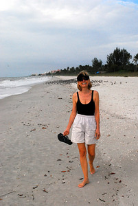 Walking on the beach has always been one of our favorite diversions -- but doing so in December is a particular pleasure....