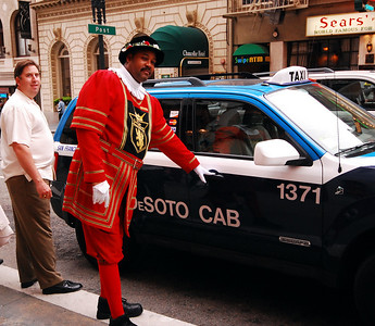 We were determined to walk, so we politely declined the offer of a taxi from the beefeater-costumed doormen at the Sir Francis Drake Hotel.