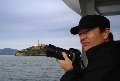 It was a 12-minute ferry ride across the bay to Alcatraz Island.