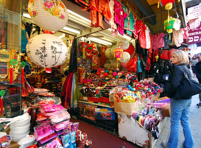 San Francisco's Chinatown is a city within a city -- colorful, commercial, gaudy and alive.