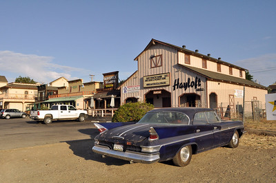 The town of Santa Ynez had tried to retain its Old West look.