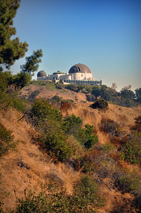 Before beginning our week of wine tasting, we stopped at Los Angeles's Griffith Park, the nation's largest municipal wilderness park and its centerpiece -- the Griffith Observatory.