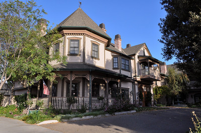 """Our """"homebase"""" was the Santa Ynez Inn, a boutique Victorian-style bed-and-breakfast in the center of the town with the same name."""