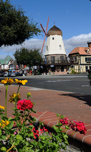 Another of Solvang's windmills.