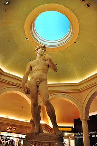 ...or gaze upon the magnificent faux creations of Michelangelo.