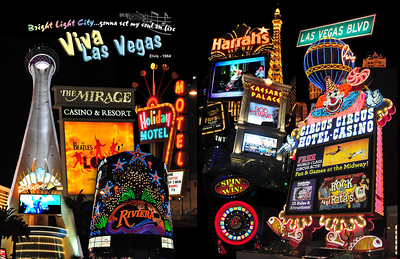 Neon has been a staple of Las Vegas since1929.  Today neon is nearing its end, replaced by more efficient LED and LCDs.  Las Vegas...a pacesetter for energy efficiency?