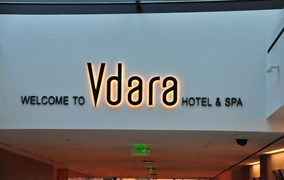 We stayed at the Vdara Hotel & Spa...