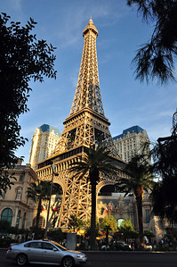 ....or the Eiffel Tower, he or she could make a trip around the world -- or spend one afternoon in Las Vegas.
