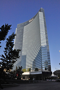 ...located a convoluted block or two away from the Strip, but connected to the Bellagio Hotel & Casino.