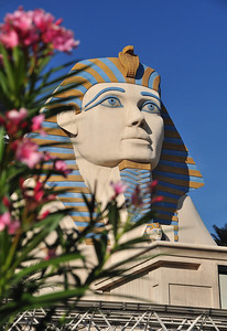 ...with a Sphinx that still has its (distinctly non-Egyptian) nose intact....