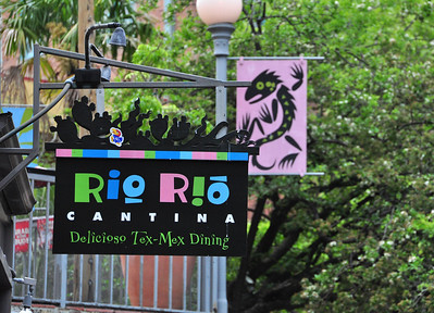 Mexican, barbeque, seafood, etc....if it can be consumed, it is likely to be available somewhere on Riverwalk.