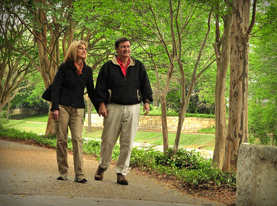 South of downtown, River Walk changes from commercial to natural.  It was a great place to walk off the numerous enchiladas we had consumed.