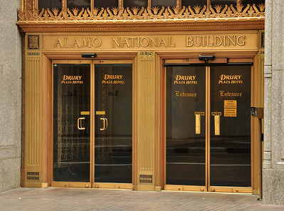It was once the Alamo National Bank.  The original building was built in 1929....