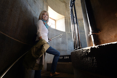 Not wanting to miss anything, we climbed the 294 steps to the top of the obelisk...