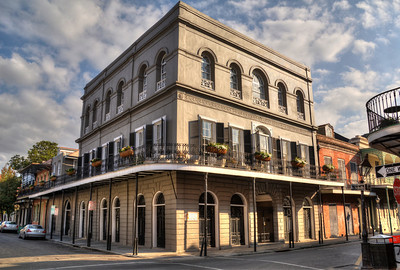 """The actor Nicholas Gage once called the Lalaurie Home (1140 Royal Street) his home, until financial difficulties forced him to hand it over to the bank in 2009.  In the 1830s, the house was the scene of a horrendous fire.  When neighbors crashed through a locked door, they found seven slaves chained and unable to move. The sight, combined with stories of past slaves having """"committed suicide,"""" incited the neighbors' wrath and forced the owner Madame Lalaurie to flee to Paris."""