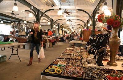 Today the French Market is a mixed bag of jewelry, hats, cheap sunglasses, and so on.