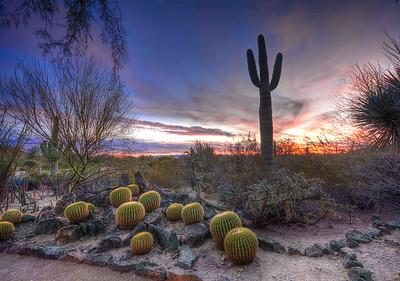 It's hard to beat an Arizona sunset.