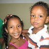 More cute kids - church member's daughter (left) & Mari's son (right) - they all wanted their pictures taken!