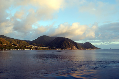 Sailing for St. Kitts