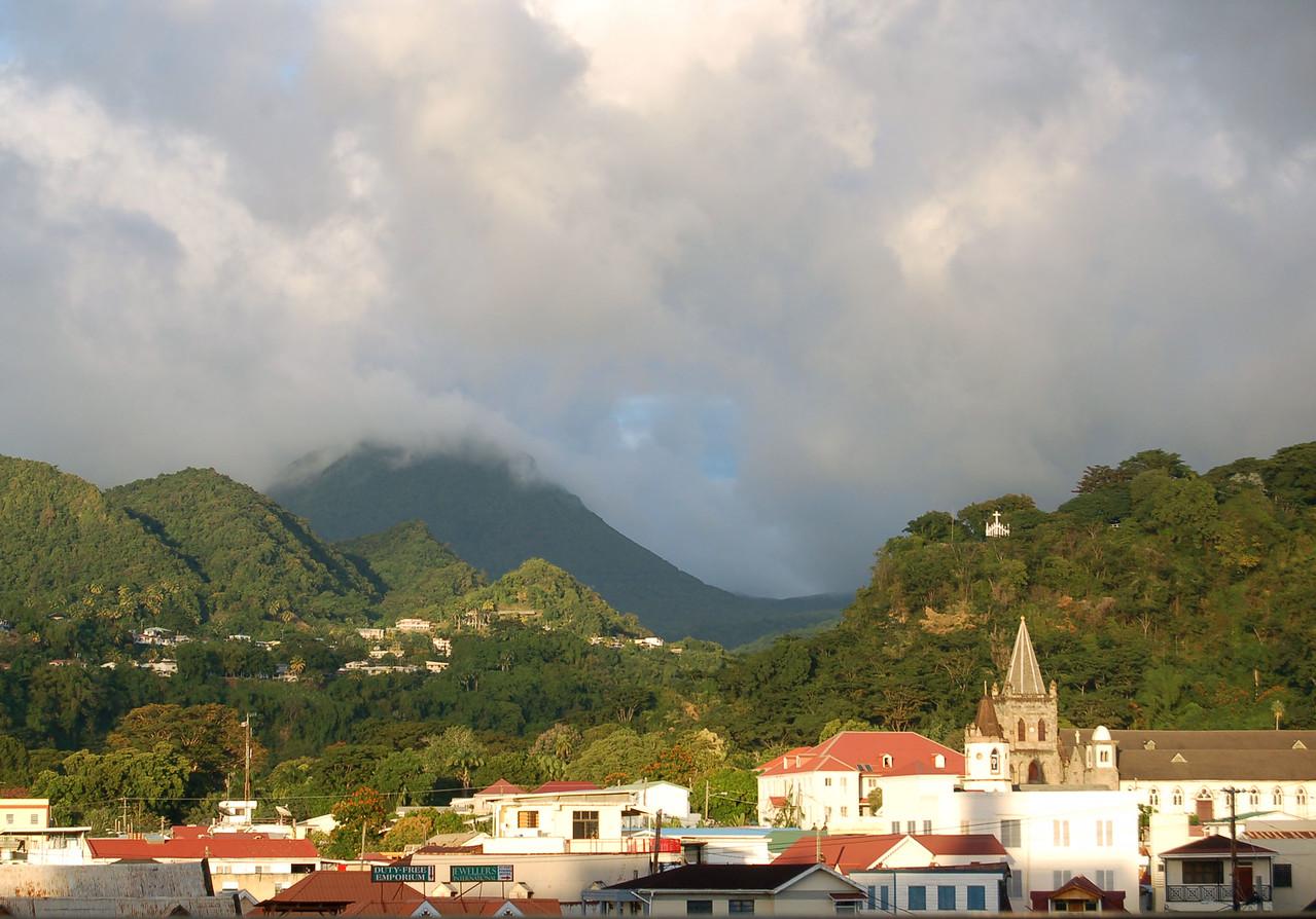 Leaving Dominica