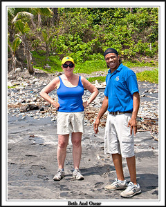 Beth And Oscar our guide and New Friend