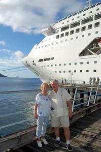 Gene & Annie Going Ashore