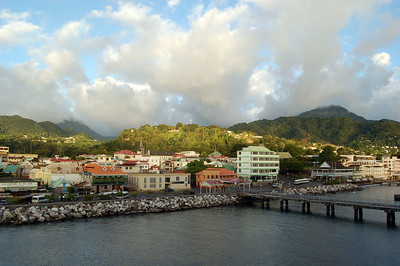 Leaving Dominica