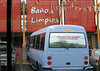 I don't know what limpios means but Bano is the most important word in the Spanish language.