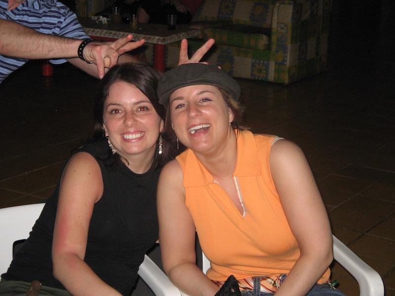 Leanne and I
