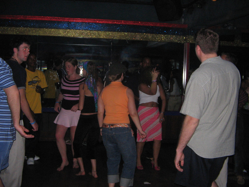 At some disco