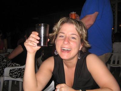 Leanne Poolside at Night