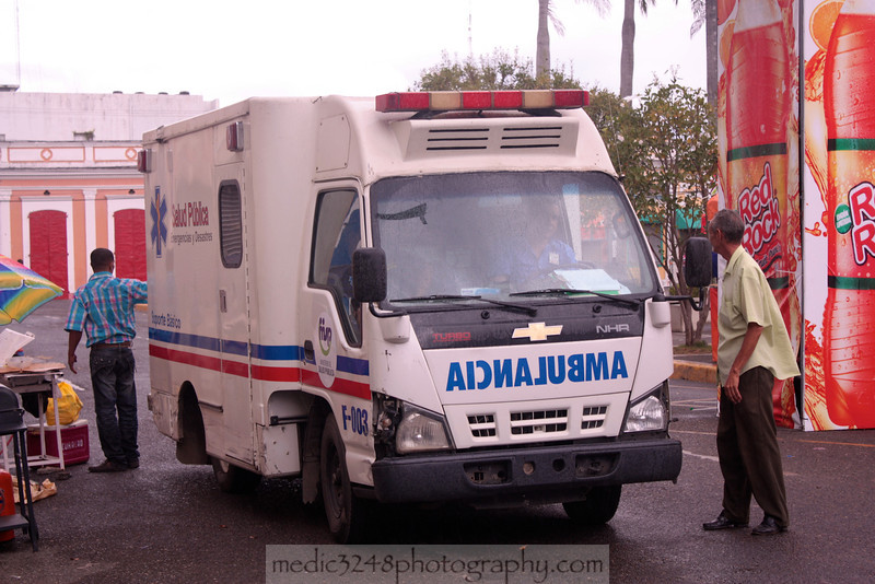 Public Health ambulance