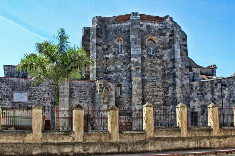 Church in Santo Domingo Enhanced