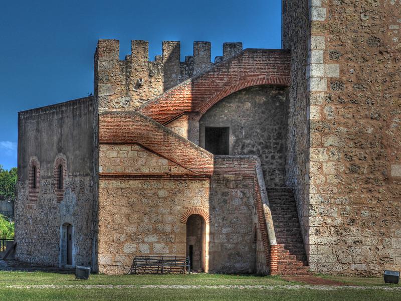 Fort at Santo Domingo close-up