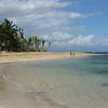 Rounding the curve of beach en route to Playa Las Ballenas and Playa Bonita
