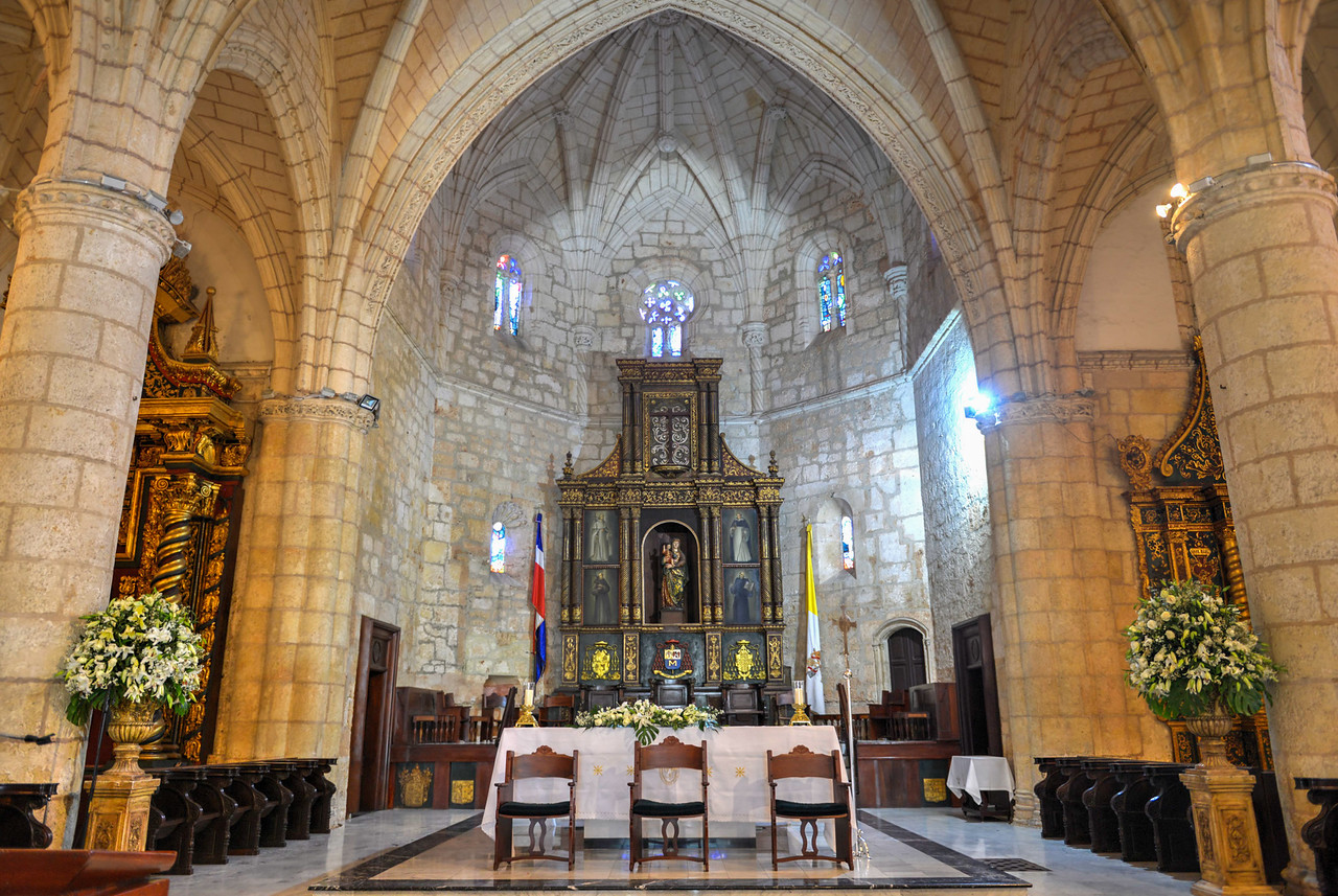 Cathedral of St. Mary of the Incarnation, Santo Domingo, Dominican Republic
