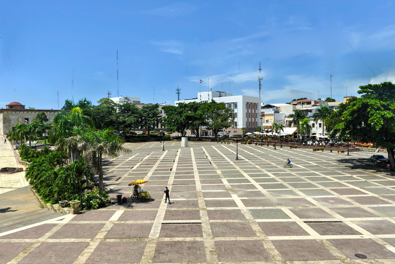Plaza de Espana, Santo Domingo, Dominican Republic