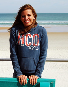 17 Volleyball teen girls at Daytona Beach