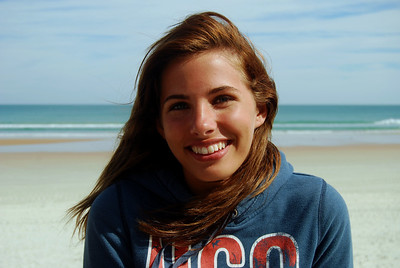 20 Volleyball teen girls at Daytona Beach